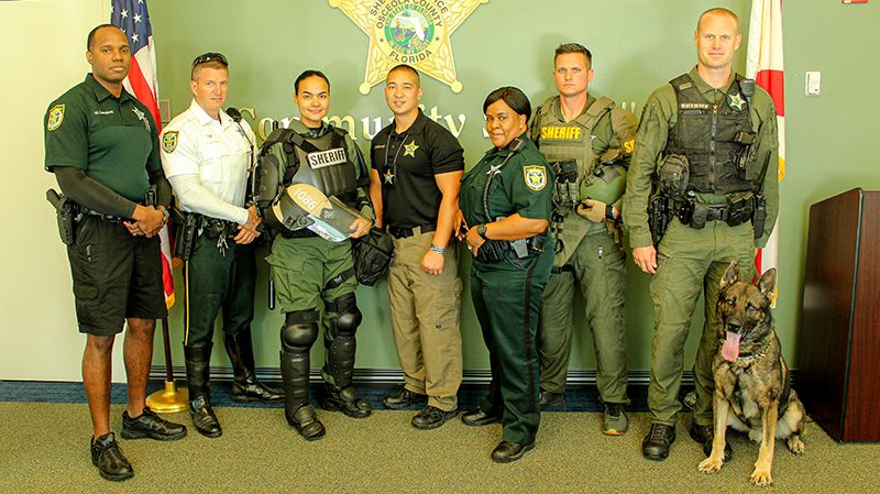 Osceola County Sheriff's Office deputies