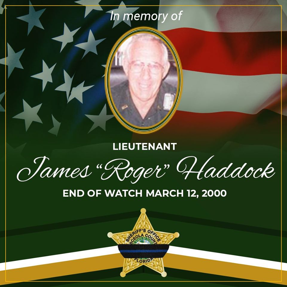 Lt James Roger Haddock
