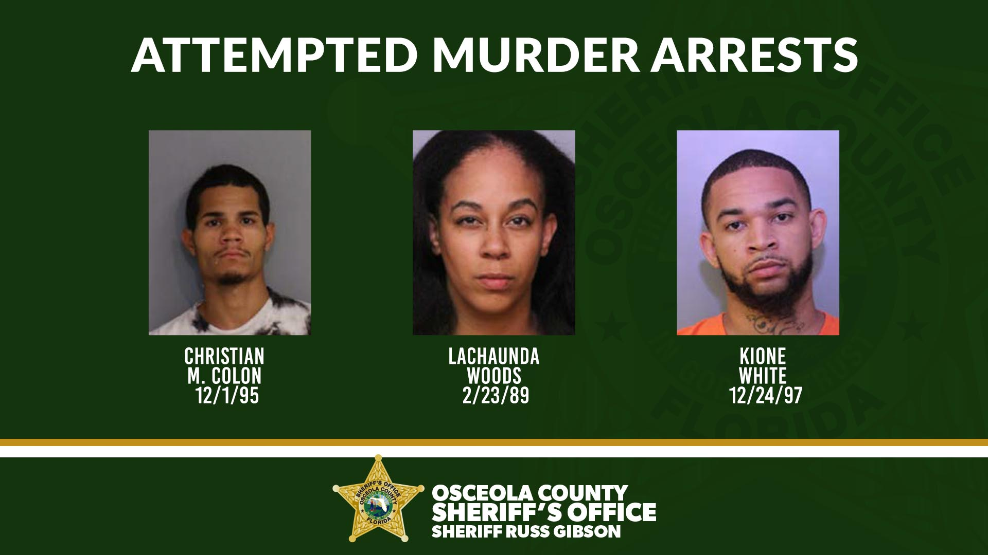 Attempted Murder Arrests