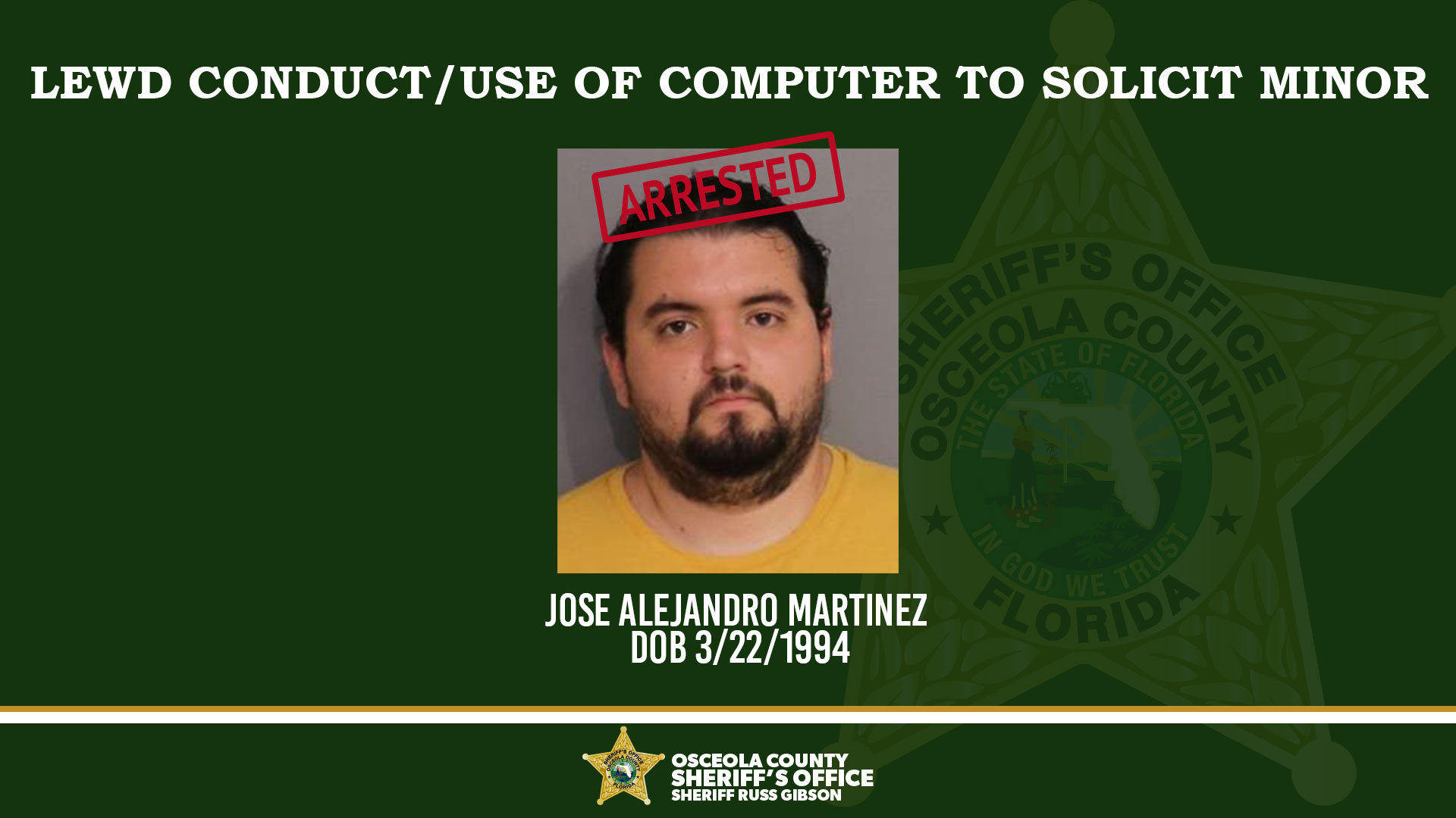 Lewd Conduct/Use of Computer to Solicit Minor