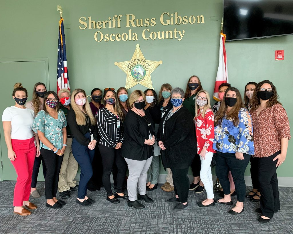 Osceola County Sheriff's Office Records Section Group Photo