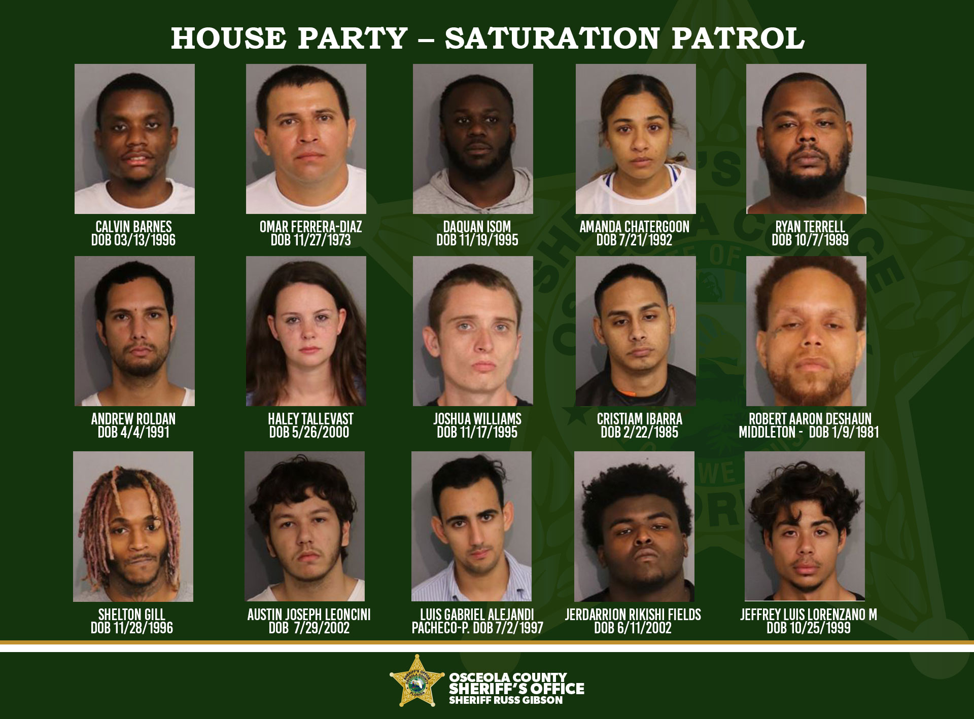 House Party – Saturation Patrol