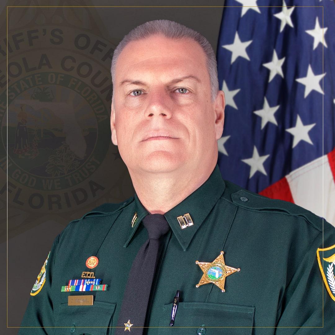 Cole McDaniel - Captain Judicial Services