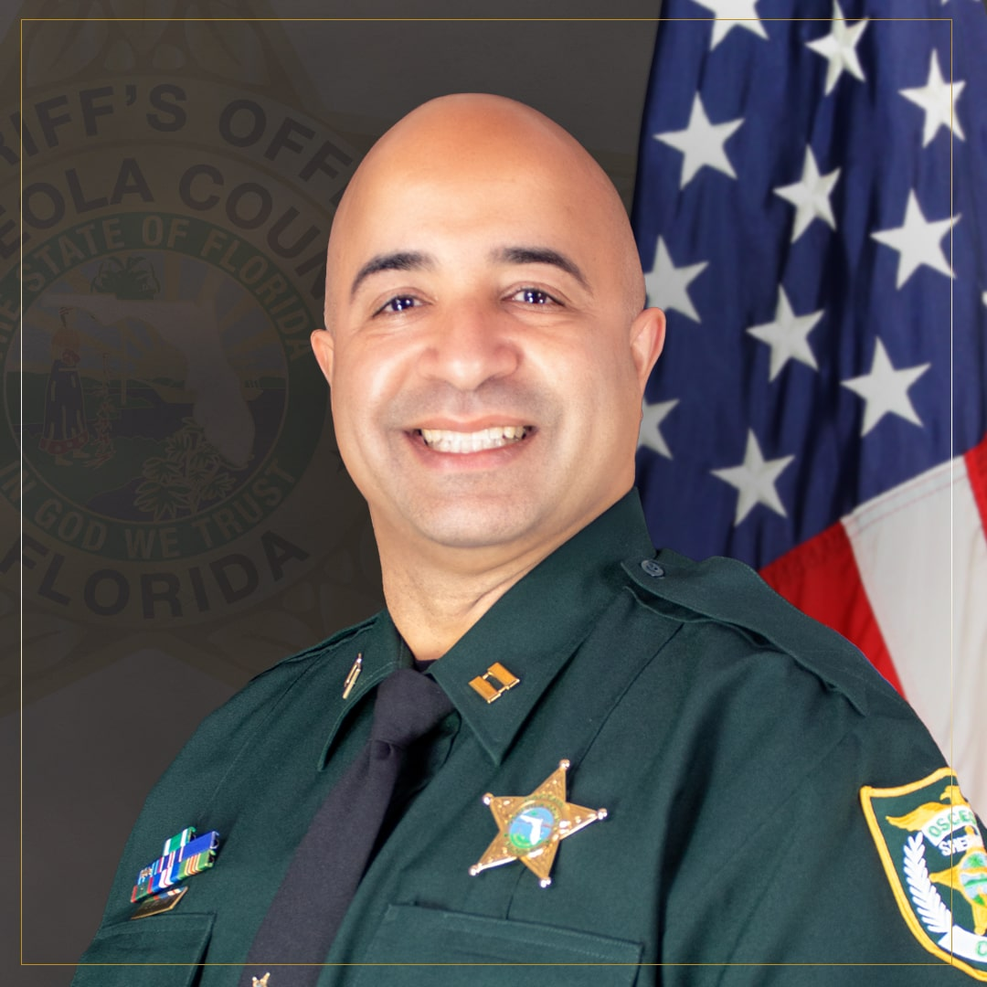 Captain Ivan Molina - captain over Patrol West