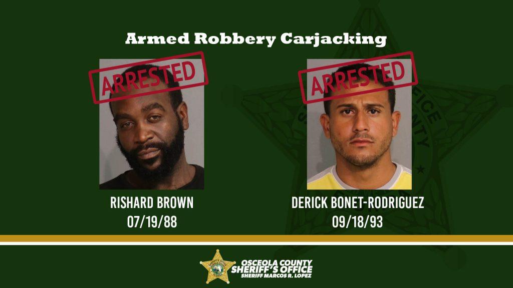 Armed Robbery Carjacking