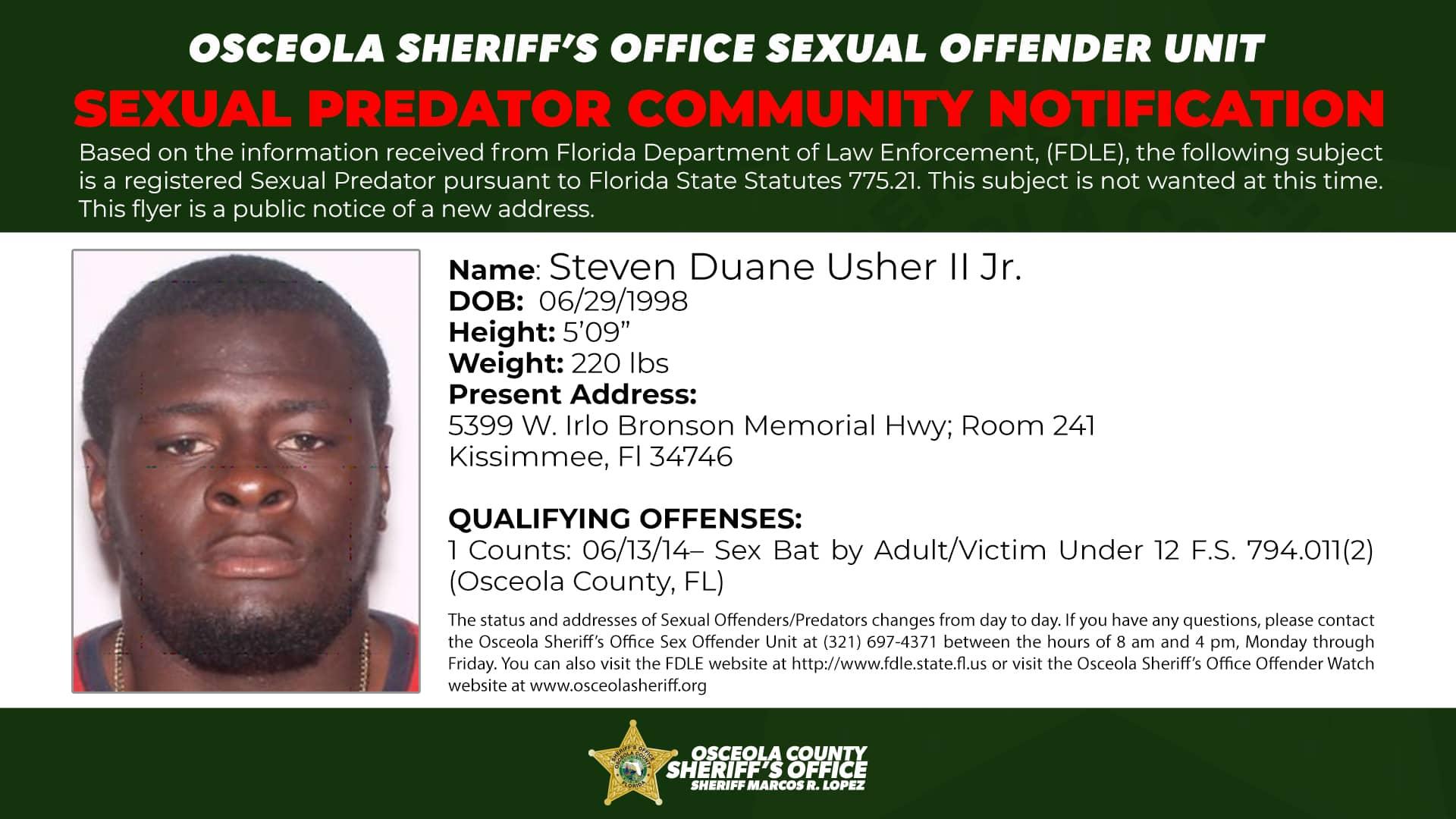 Steven Duane Usher - Steven Duane Usher II Jr.