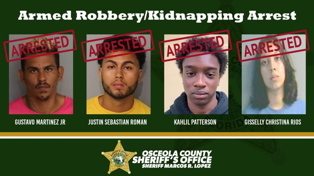 Armed Robbery/Kidnapping Arrest