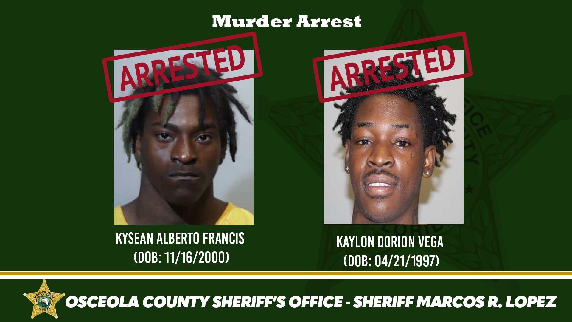 Murder Arrest
