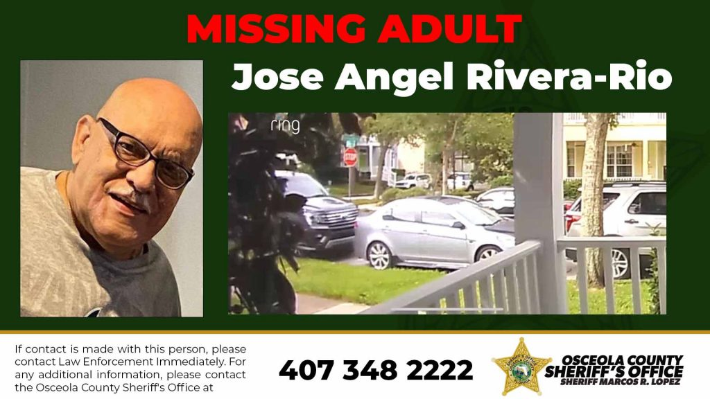 MISSING ADULT - Jose Angel Rivera-Rio