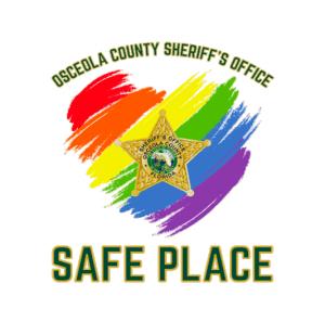 OCSO safe place logo